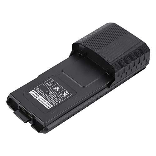 Yctze Batería de Iones de Litio, batería extendida de Alta Capacidad, batería de walkie-Talkie de 7,4 V para Baofeng, para UV-5R, DM-5R, UV-5R V2 +, UV-5RQ, BF-F8(Black)