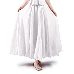 """Kind Notice: ONE Size doesn't fit all: waist stretch range 23""""- 33"""", 3 lengths for size option: 85/95CM/105CM - 33""""/37""""/41.3"""", Bottom hem: 24ft (Model in picture: Height/weight 162CM/45KG (5'4""""/100LB); BWH:80/61/85 - wears 85CM) If you are similar wi..."""