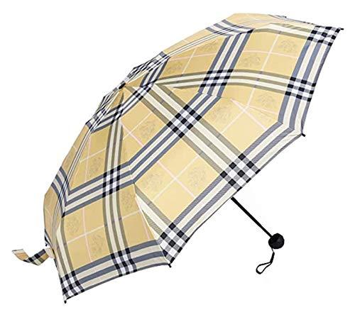 Brushes Paraguas Plegables Paraguas sombrillas sombrillas (Color : Pink)