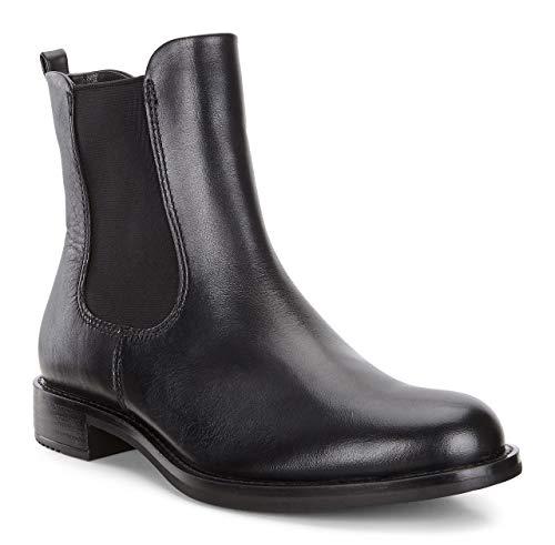 Ecco Damen Shape 25 Chelsea Boots, Schwarz (BLACK1001), 39 EU