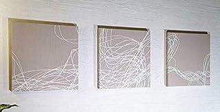 ファブリックパネル boras RAPID 40×40×2.5cm 3set ベージュ 復刻版限定品 ボロスコットン インテリアパネル ラピッド 軽量厚型設計 同梱可
