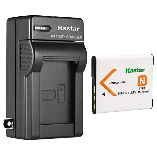 Kastar 1-Pack Battery and AC Wall Charger Replacement for Sony Cyber-Shot DSC-W730, Cyber-Shot DSC-W800, Cyber-Shot DSC-W810, Cyber-Shot DSC-W830, Cyber-Shot DSC-WX5, Cyber-Shot DSC-WX7 Cameras