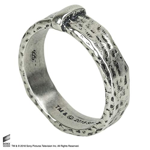 The Noble Collection Outlander - Claire's Wedding Ring Sterling Silver-7