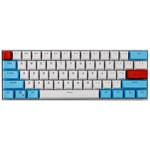 GPFDM 60% Mit Mechanischer Tastatur - PBT Transparente Tastenkappe GH60 Tastenkappe RK61 / ALT61 / Poker Tastenkappe,B