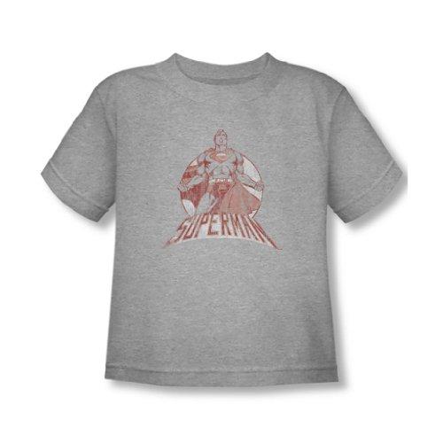 Superman - - Super Bad Toddler T-shirt En Heather, 4T, Heather