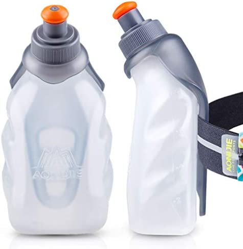 AONIJIE Running Water Bottle Clip 8 5 Oz 250ml BPA Free Bottle Holder for Hydration belt Packs product image