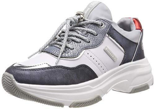 Dockers by Gerli Women's 44dc201-680669 Low-Top Sneakers, Blue (Navy/Multi 669) 5 UK