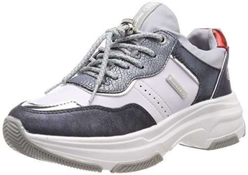Dockers by Gerli Damen 44DC201 Sneaker, Blau (Navy/Multi 669), 40 EU