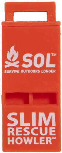 S.O.L Survive Outdoors Rescue Whistle
