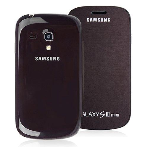 Sweet - Funda para Samsung Galaxy S3 Mini (policarbonato), color marrón