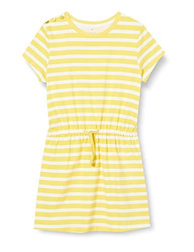 NAME IT Mädchen NKFDNKFLIFE SS Dress Kleid, Aspen Gold, 152