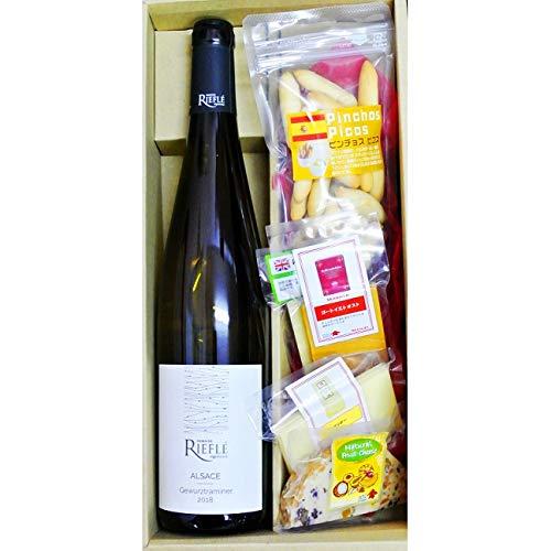 ギフトワイン ドメーヌ・リーフレ ゲヴュルツ トラミネール トラディション & チーズ&ピコス5種