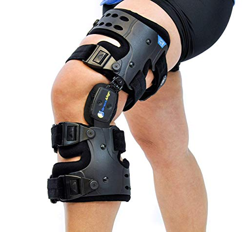 Brace Align Osteoarthritis Unloader Adjustable ROM Medical Knee Brace - Load Reduction Arthritis Cartilage Repair Knee Joint Pain Degeneration Left Medial or Right Lateral