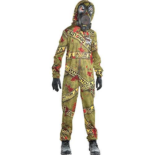 Boys Quarantine Zombie Costume, Large (12-14)- 2 pcs.