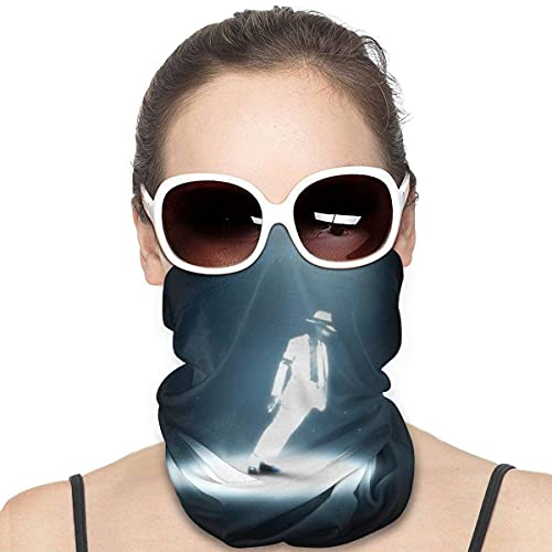 Clásico Michael Jackson Sports Riding Mask Headwear Face Scarf Cover Unisex Outdoor Headband Turban Neck Funda a prueba de viento Protección solar Banda sin costuras 50 X 25 cm