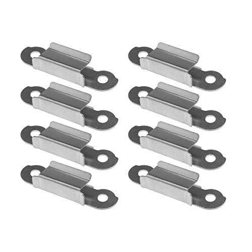 8 clip di fissaggio, in acciaio inox per stampante 3D, compatibile con Ultimaker 2 Creality 10, universale