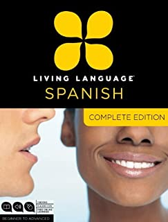 Living Language Spanish, Complete Edition: Beginner through advanced course, including 3 coursebooks, 9 audio CDs, and free online learning by Living Language (2011-08-09)
