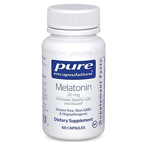 Pure Encapsulations - Melatonin 20 mg