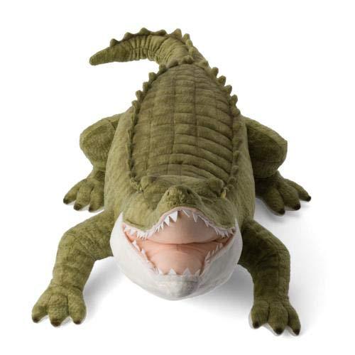WWF Plüsch WWF00925, WWF Krokodil (90cm), realistisch, Super weiches, lebensecht gestaltetes Plüschtier zum Knuddeln und Liebhaben, Handwäsche möglich