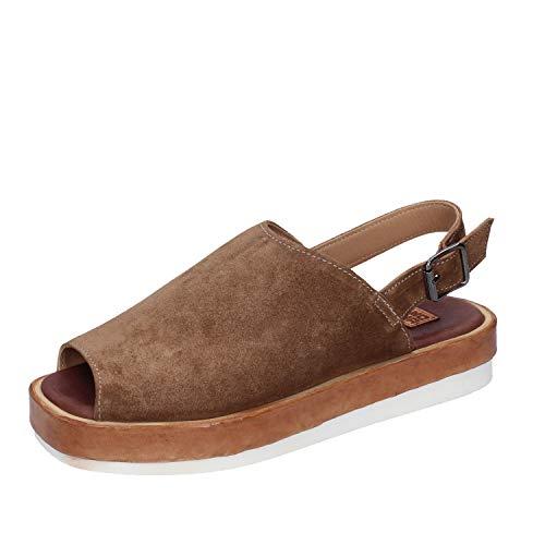 MOMA sandalen Damen wildleder braun 36 EU