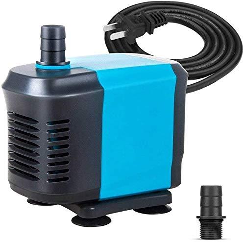 BinBin Filtro de la Bomba del Tanque de inmersión Fish Bomba Sumergible Silenciar la Bomba de Agua del Acuario,48W