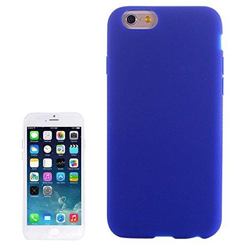 SmartProtectors! Softcase Silicon Hülle für iPhone 6 PLUS und 6S PLUS in Blau