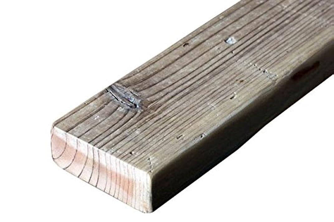 バラバラにするパンダ焦げOLD ASHIBA(足場板古材) フリー板 厚35mm×幅90mm×長さ100mm (10cm) 無塗装 ※DIY用素材