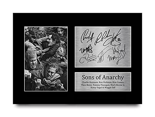 HWC Trading Sons of Anarchy A4 Ungerahmt Signiert Gedruckt Autogramme Bild Druck-Fotoanzeige Geschenk Für Tv-Show-Fans