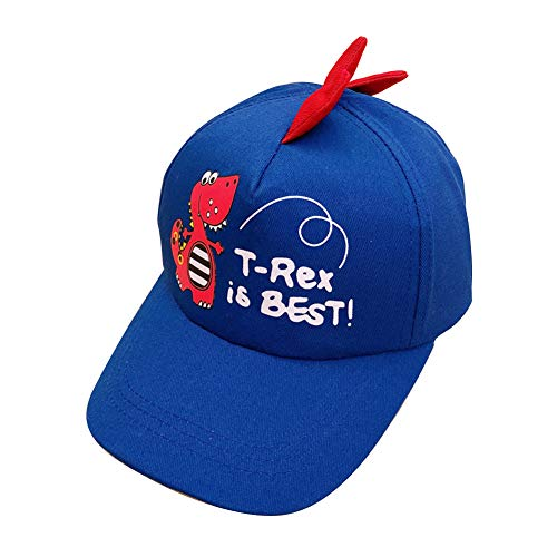 Culer Dinosaurio muchachas de los muchachos de la historieta gorra de béisbol impresa ocasional Sombreros para niños