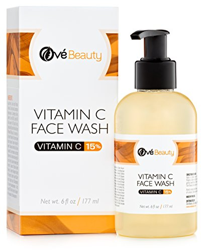 Ové Beauty 15% Vitamin C Face Wash-Best Daily Face Wash Cleanser