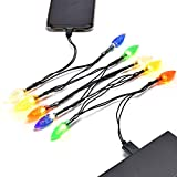 USB and Bulb Charger, LED Christmas Lights Charging Cable,Durable, Portable,Compatible with 5 5s 6 6plus 6s 6s Plus 7 7plus 8 8plus X XR XS XS Max 11Pro Max etc