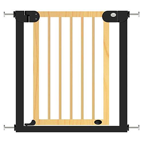 Jlxl kinderveiligheidsdeuren, trapbeschermingsrooster voor huisdieren, uittrekbaar, automatisch, twee richtingen, drukmontage, hek, veiligheid ingangdeur, 14cm, Gris