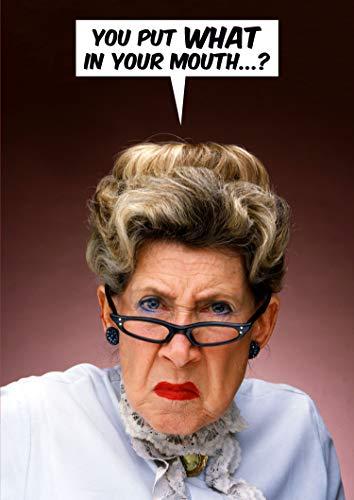 You Put, was in Ihren Mund...? Funny Geburtstagskarte