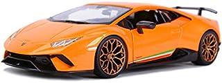 Huracan Performante Metallic Orange 1/24 Diecast Model Car by Bburago 21092