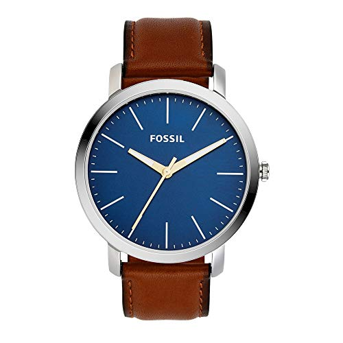 Fossil Analog Blue Dial Men's Formal Watch