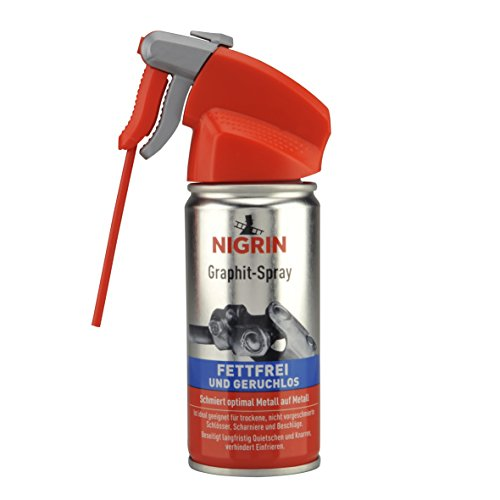 NIGRIN 72254 Graphit Spray 100ml