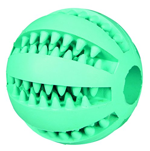 Trixie 32880 Denta Fun Ball, Mintfresh, Naturgummi, ø 6 cm
