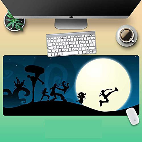 Mouse pad One Piece 40 x 90 cm Anime Mouse pad Gaming (40 x 90 cm) -A_800 x 300 x 3 mm