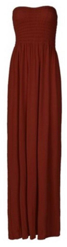 Available at Amazon: Purple Hanger Women's Boob Tube Bandeau Strapless Maxi Dress