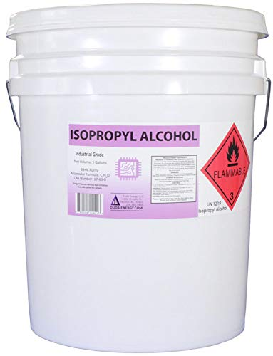 950ml Bottle of 99+% Pure Isopropyl Alcohol Industrial Grade IPA Concentrated Rubbing Alcohol