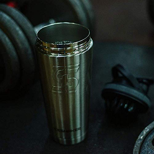 Vacuum Insulated Protein Shaker Bottle for Gym