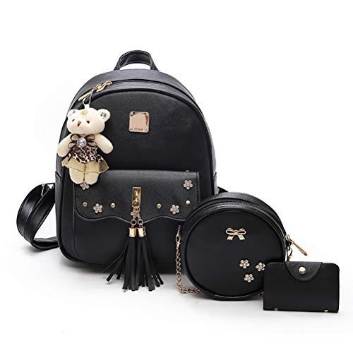 Vssictor School Sac à dos pour filles et femmes, sac à bandoulière léger, sac à dos