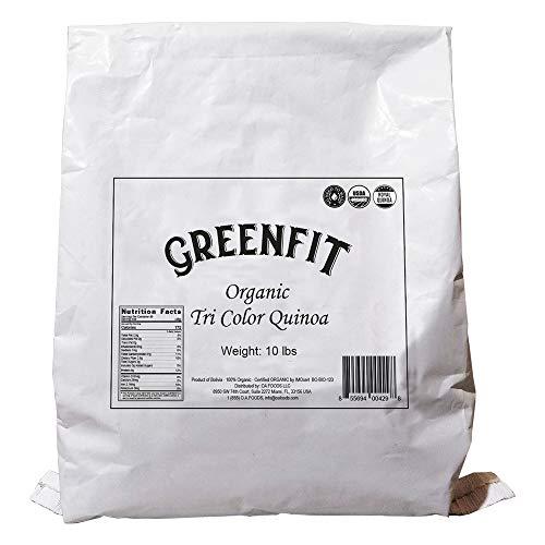 OA QUINOA Now Greenfit   Royal Organic Tri Color Quinoa (10 Lb)