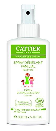CATTIER Spray Démêlant Familial 200 ml - Lot de 3