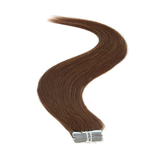 Ruban adhésif en Extensions de cheveux | 45,7 cm | 50PS | 50 g | Mocha Brown (4)