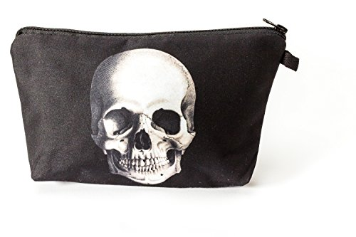 Premium Skull doodskop allround tas make-up make-up tas toilettas stiftenetui etui etui reistas portemonnee cosmetic tas
