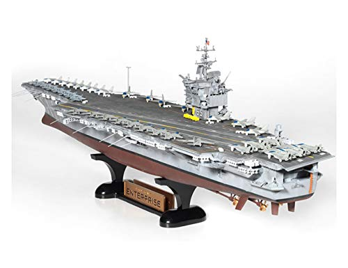 Academy USS Enterprise CVN-65 Aircraft Carrier Plastic Model Kits 1/600 Scale