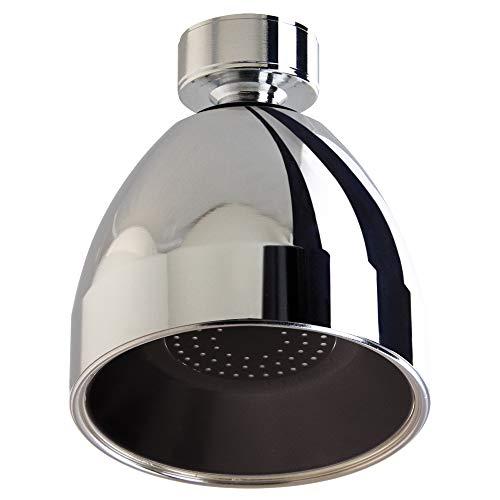 Siroflex Chromed Black Shower Head (New Siroflex Product)