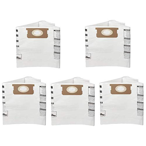 Runtodo Paquete de 5 bolsas de filtro desechables para 9066200 10-14 galones tipo F tipo I, reemplazar la pieza 90662 y 90672