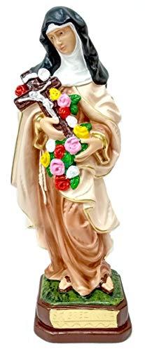 Imagem De Santa Terezinha Do Menino Jesus Gesso 30cm